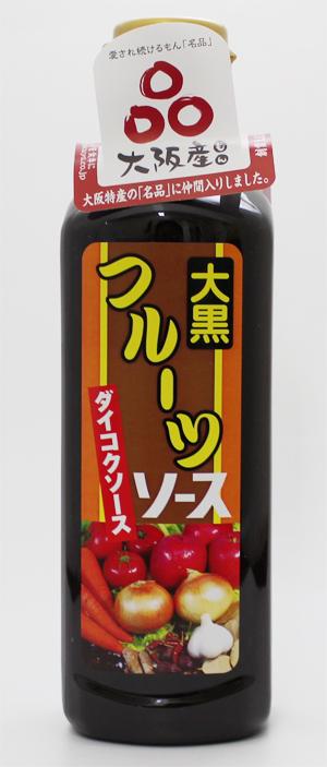 定番スタイル 大阪生まれ 大阪育ち にこだわった大阪産府民に愛され続けている大黒屋の 名品 OUTLET SALE ダイコク 500mlペット フルーツソース