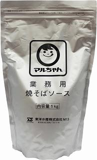 有名な 宅配便送料無料 ソースの味と香りが食欲を掻き立てます マルちゃん 業務用焼そばソース 1kg