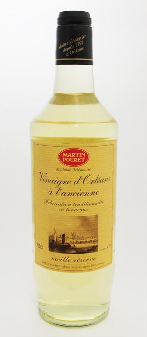 伝統のオルレアン式製法 マルタンプーレ ワインビネガー 白 750ml