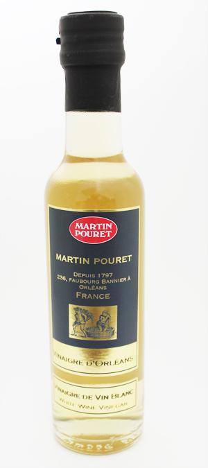伝統のオルレアン式製法 マルタンプーレ ワインビネガー 白250ml×6本(1ケース)