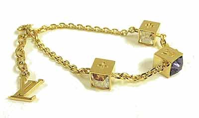 LOUIS VUITTON Louis Vuitton bracelet bracelet and gambling M66060 fs3gm