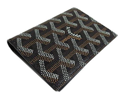 【キャッシュレス5%還元対象】≪新品≫ 正規品 ゴヤール カードケース サンマルク 黒 ブラック 箱・リボンのラッピング