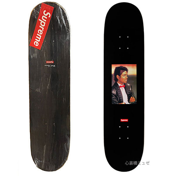 贈り物 【エントリーで店内商品全品ポイント5倍!11/4(日)20時~11/10(土)23時59分迄開催!】≪新品≫ 17SS SUPREME SUPREME Michael Jackson Skateboard Deck Black シュプリーム スケートボード デッキ ブラック, BRAN'S おお蔵 ed9ac472