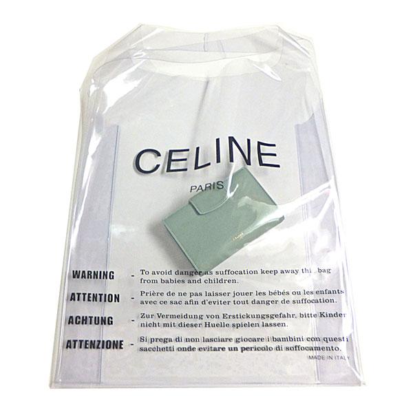 2e20e2c6984c 楽天市場】CELINE セリーヌ 限定 ビニール ショッパー バッグ セラドン ...