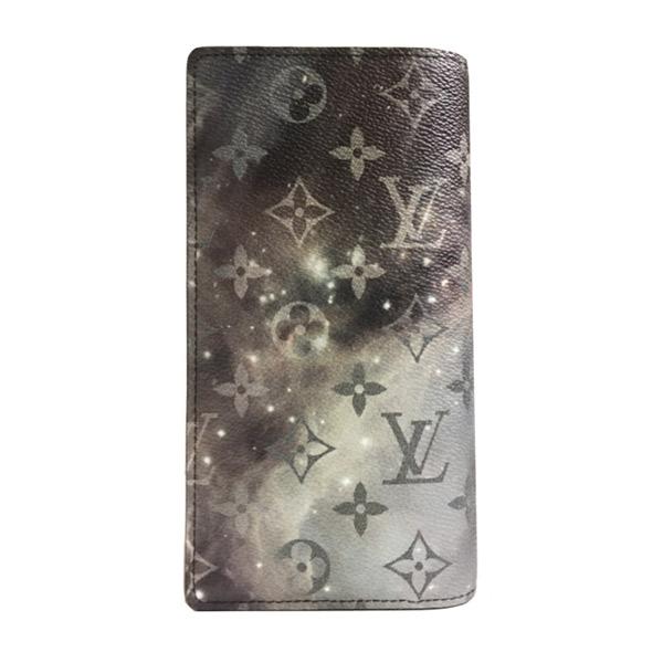 ≪新品≫ ルイヴィトン LOUIS VUITTON 2019年 メンズ 秋冬コレクション ポルトフォイユ・ブラザ モノグラムギャラクシー ブラザ M63871 長財布 限定 箱のラッピング