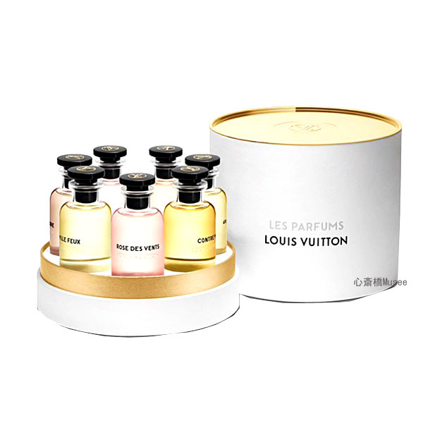 LOUISVUITTON ルイ・ヴィトン「ミニチュアセット」オードゥ パルファン 7種類×10ml 香水 LP0101 Collection de Miniature Set Eau de Parfum