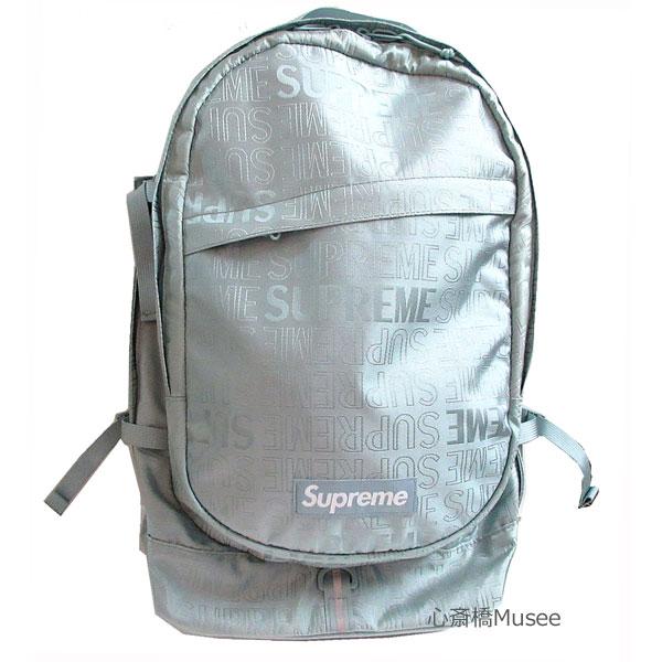 【キャッシュレス5%還元対象】≪新品≫Supreme 19ss SUPREME Backpack Cordura シュプリーム バックパック リュックサック 新作 Light Blue ライト ブルー シルバー