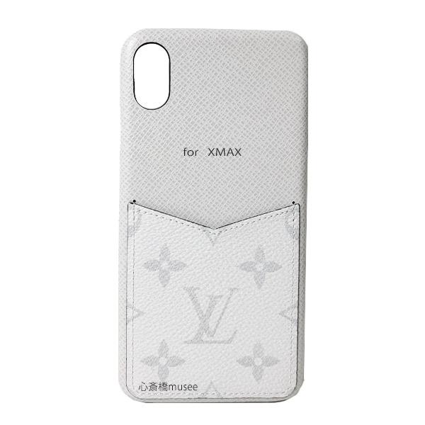 【キャッシュレス5%還元対象】≪新品≫ルイヴィトン バンパー iphone XS MAX 10S MAX XMAX バンパー タイガラマ ブロン M30277 スマホ 携帯ケース アクセサリー モバイル 白 LOUISVUITTON ビトン プレゼントラッピング