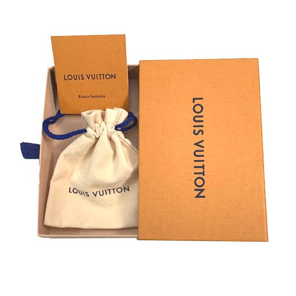 ≪新品≫ Vuitton ルイヴィトン ネックレス・エセンシャルV ゴールド M61083 ネックレス ゴールド LV ビトン V ルイヴィトン 箱 リボン ラッピング