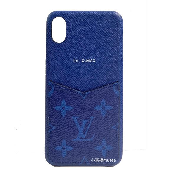 uk availability c3416 24f8b ≪New >> Louis Vuitton bumper iphone XS MAX 10S MAX XMAX bumper taiga llama  cobalt blue M30273 smartphone mobile case accessories mobile blue ...