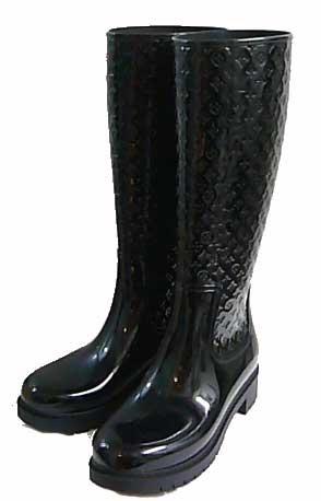 «» Louis Vuitton 皮靴飞溅线高 39 黑黑 858044