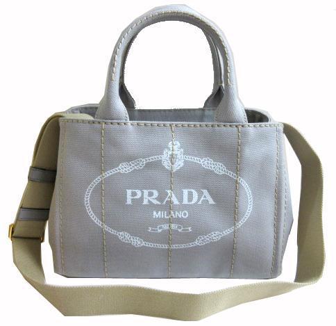 c9e1c6a58299 ... reduced brand new prada prada canapa tote bag mini 2015 spring summer  color nube nube light