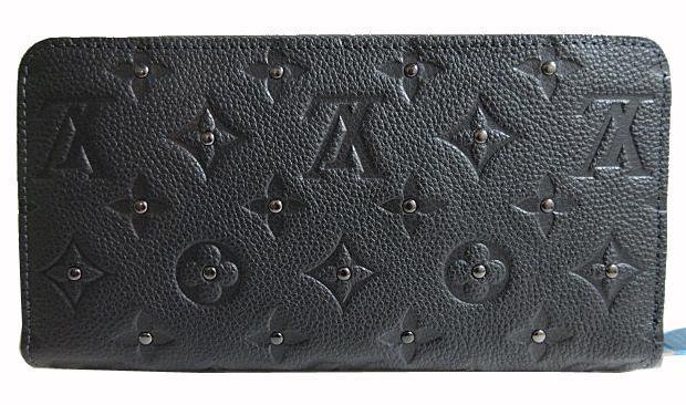 Louis Vuitton Monogram empreinte Platine studded zippy wallet long wallet  M61442. «» 90f5bae7e1d