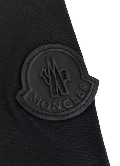 «» MONCLER MONCLER x rolling stones collaboration T shirts black black size L