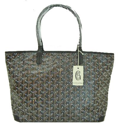 «New» genuine Goyard Artois black markergiu and GY tote bag shopper and Ribbon  wrapping. « 1f6ba4f7b7ffc