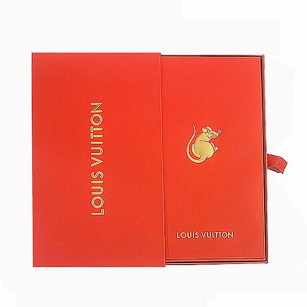 ≪新品≫ルイ・ヴィトン ノベルティ 封筒 ポチ袋 2020年 ねずみ 子 12枚セット BOX入り ホリデーショッパー付 ラッピング LOUISVUITTON