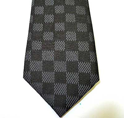 louis vuitton tie. louis vuitton damier graphite degrade tie black x grey heart shinsaibashi bridge mus\u0026eacute;e