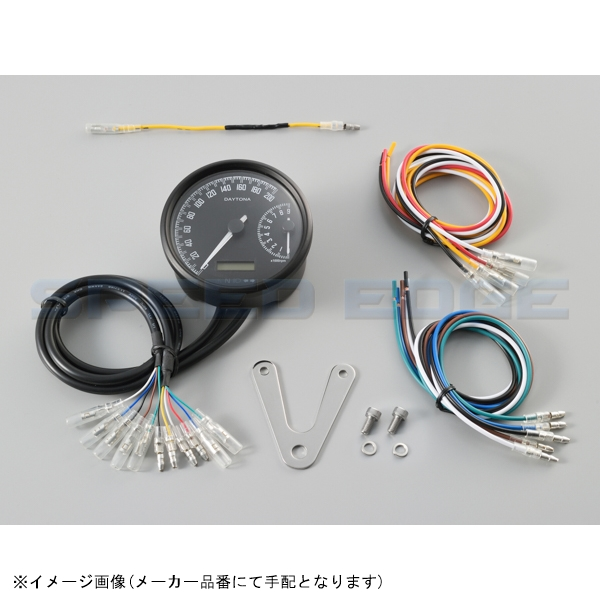 DAYTONA 品番:18376 JAN:4909449564882 18376 デイトナ タコメーター セール特価 激安セール 電気式スピード W VELONA φ80