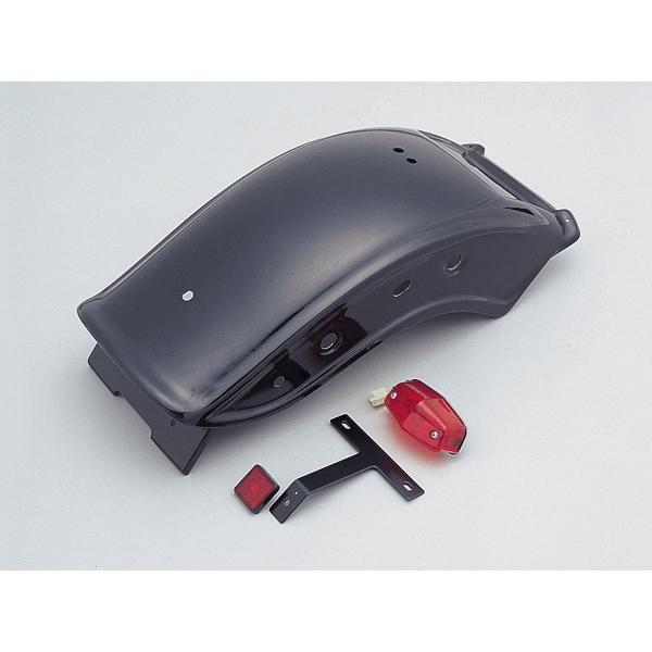 DAYTONA デイトナ ショートボブリアフェンダーキット DS400(~12)用 ブラック ゲルコート 【34004】