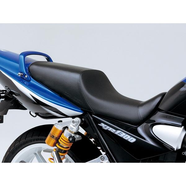 DAYTONA デイトナ COZYシート XJR1300用 ディンプルメッシュ/ブラック COMP シートベース付き 【43833】