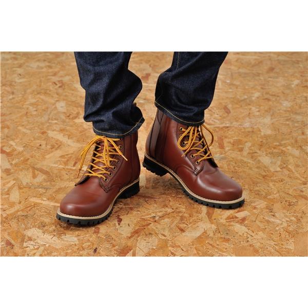 DAYTONA デイトナ HBS-003 ショートブーツ ブラウン サイズ:24.5cm [98827]
