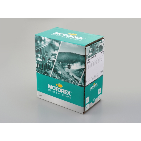 DAYTONA デイトナ MOTOREX CROSS POWER 4T 10W-50 ディスペンサー付きバッグ 20L [97856]
