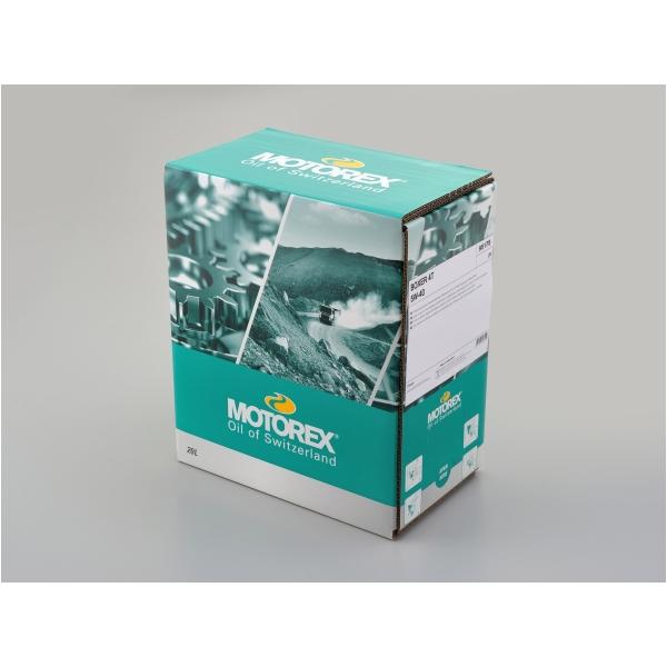 DAYTONA デイトナ MOTOREX BOXER 4T 5W-40 ディスペンサー付きバッグ 20L [97879]