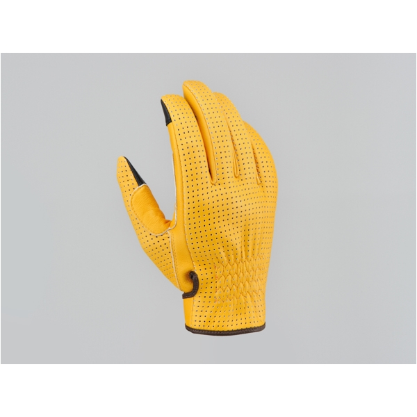 DAYTONA デイトナ:99456 デイトナ HBG-045 お気に入 内縫いガンカットショート 99456 サイズ:XL パンチングタイプ キャメル 激安通販販売