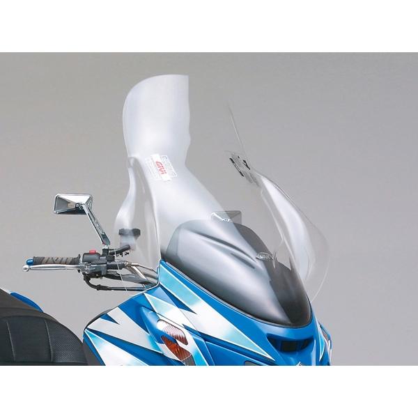 DAYTONA デイトナ GIVI エアロダイナミックススクリーン スカイウェイブ用 D258ST スクーターシリーズ クリア H800×W710mm 【90411】