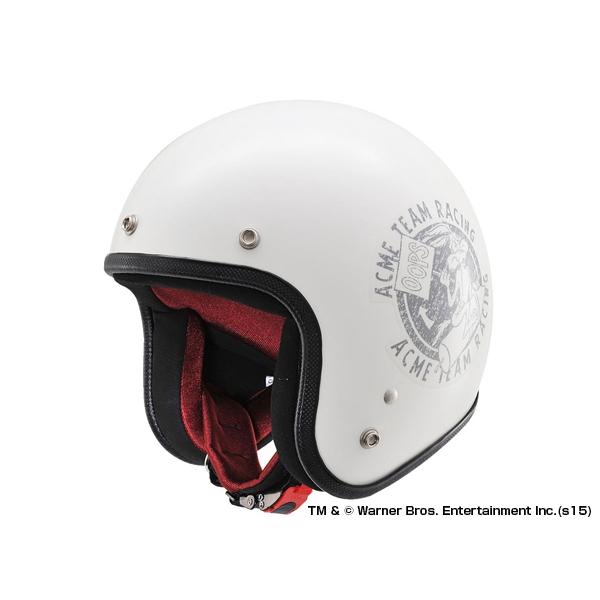 DAYTONA デイトナ Hattrick パイロットヘルメット ワイリーコヨーテ HT DA01 LT01 アイボリー フリー 【91495】