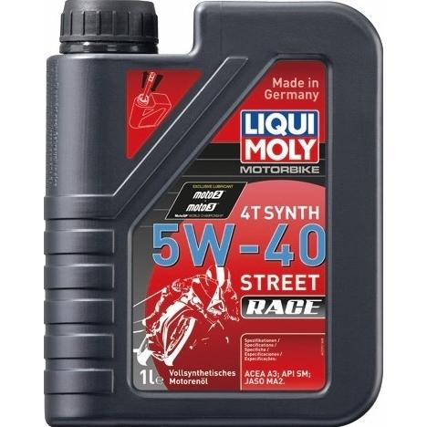 LIQUIMOLY(リキモリ) Motorbike 4T Synth 5W-40 Street Race 20L