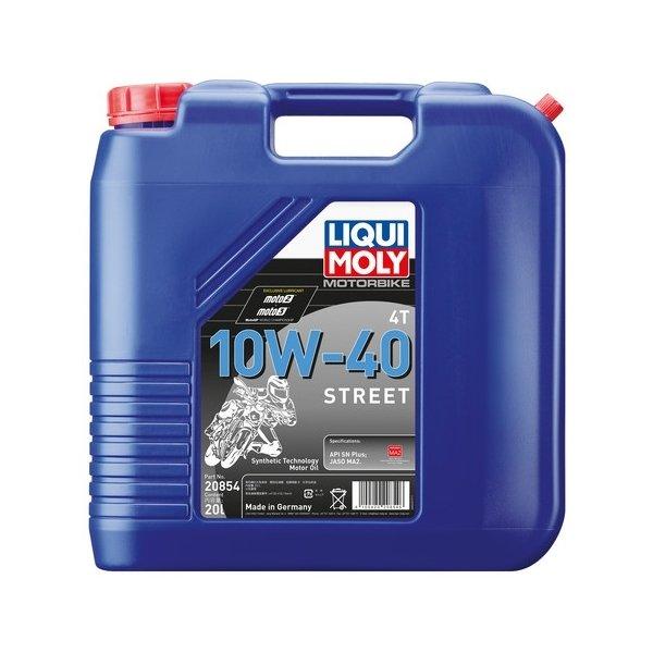 LIQUIMOLY(リキモリ) Motorbike 4T 10W-40 Street 20L
