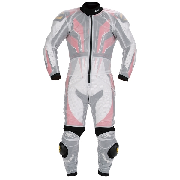 RSタイチ レーシング レインスーツ CLEAR XXL 【NXR003】