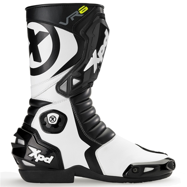 RSタイチ XPD VR-6 2 レーシングブーツ ブラック/ホワイト 27.5cm [XPN020]