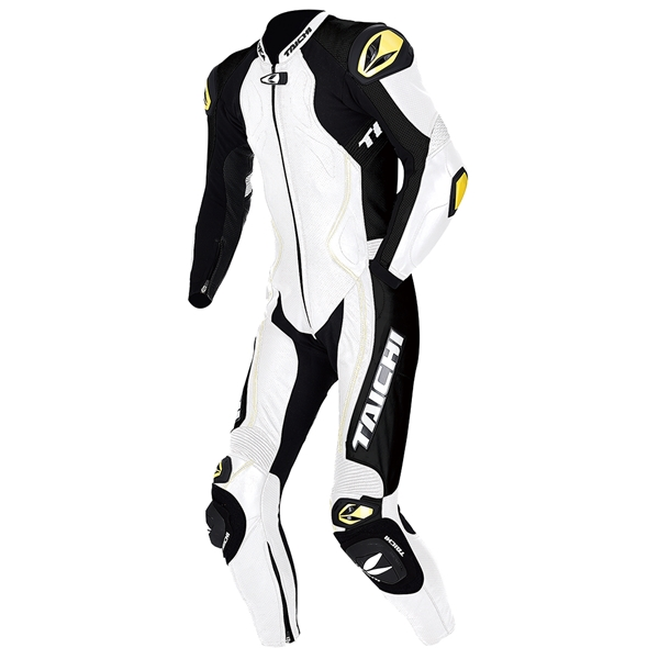 RSタイチ GP-MAX R104 レザースーツ WHITE MR 【NXL104】
