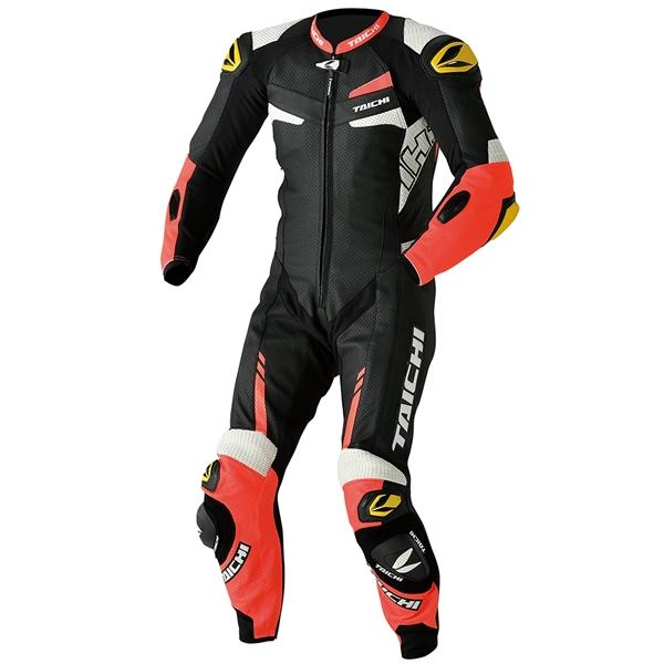 RSタイチ GP-WRX R306 RACING SUIT【TECH-AIR対応】 NEON RED M 【NXL306】