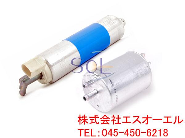 ベンツ R230 フューエルポンプ 燃料ポンプ ガソリンポンプ + フューエルフィルター SL350 SL500 SL550 0014701294 0024773001
