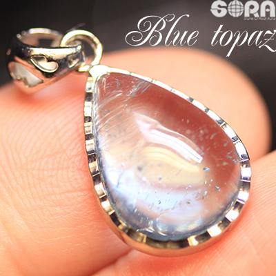 【限定1点モノ】ペンダント AAAAAロイヤルブルートパーズ パワーストーン 天然石 【soraJ】 jewelry