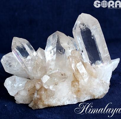 【限定1点モノ】クラスター・原石 高い透明度、素晴らしい形状、ボリューム ヒマラヤ水晶(ガネーシュヒマール産) 約1000g  パワーストーン 天然石 原石