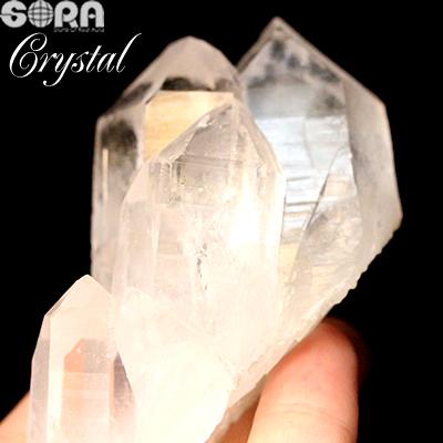 【限定1点モノ】高品質 アーカンソー産水晶クラスター 天然石 パワーストーン 約173g