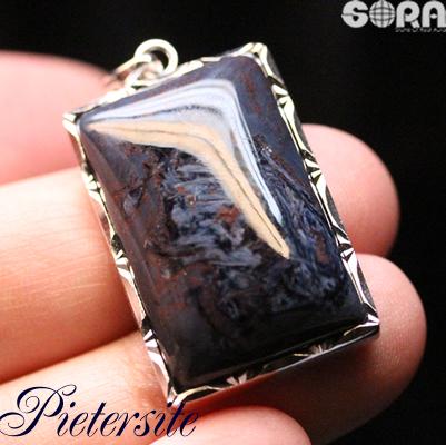 成功運祈願 AAAAAブルーピーターサイト(ナミビア産) ペンダント パワーストーン 天然石 ピーターサイト  jewelry
