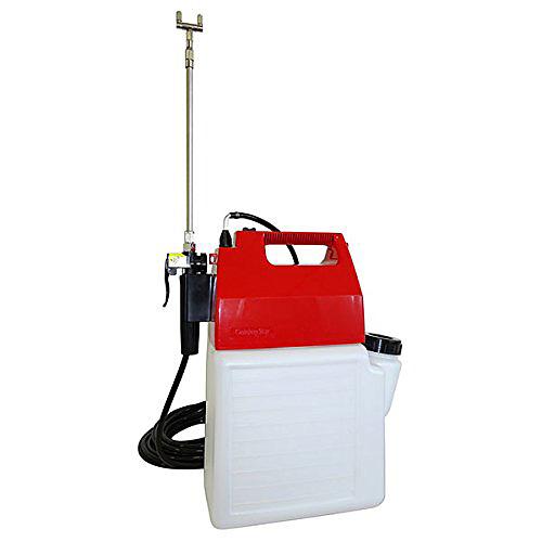 《ガーデニングや家庭菜園の殺虫に》キンボシ電気式噴霧機MS-900Aマルチスプレー10L