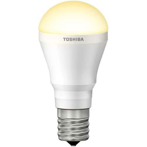東芝 LED電球 E-CORE ミニクリプトン形 電球色50W形相当LDA6L-H-E17/S50W/2(5個セット)