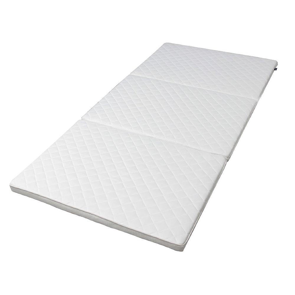《手洗い可能。ベッドや床に敷き、1枚でも使えるマットレス》アイリスオーヤマ エアリープラス高反発マットレス厚み5cmハードタイプAPMH-Sシングル