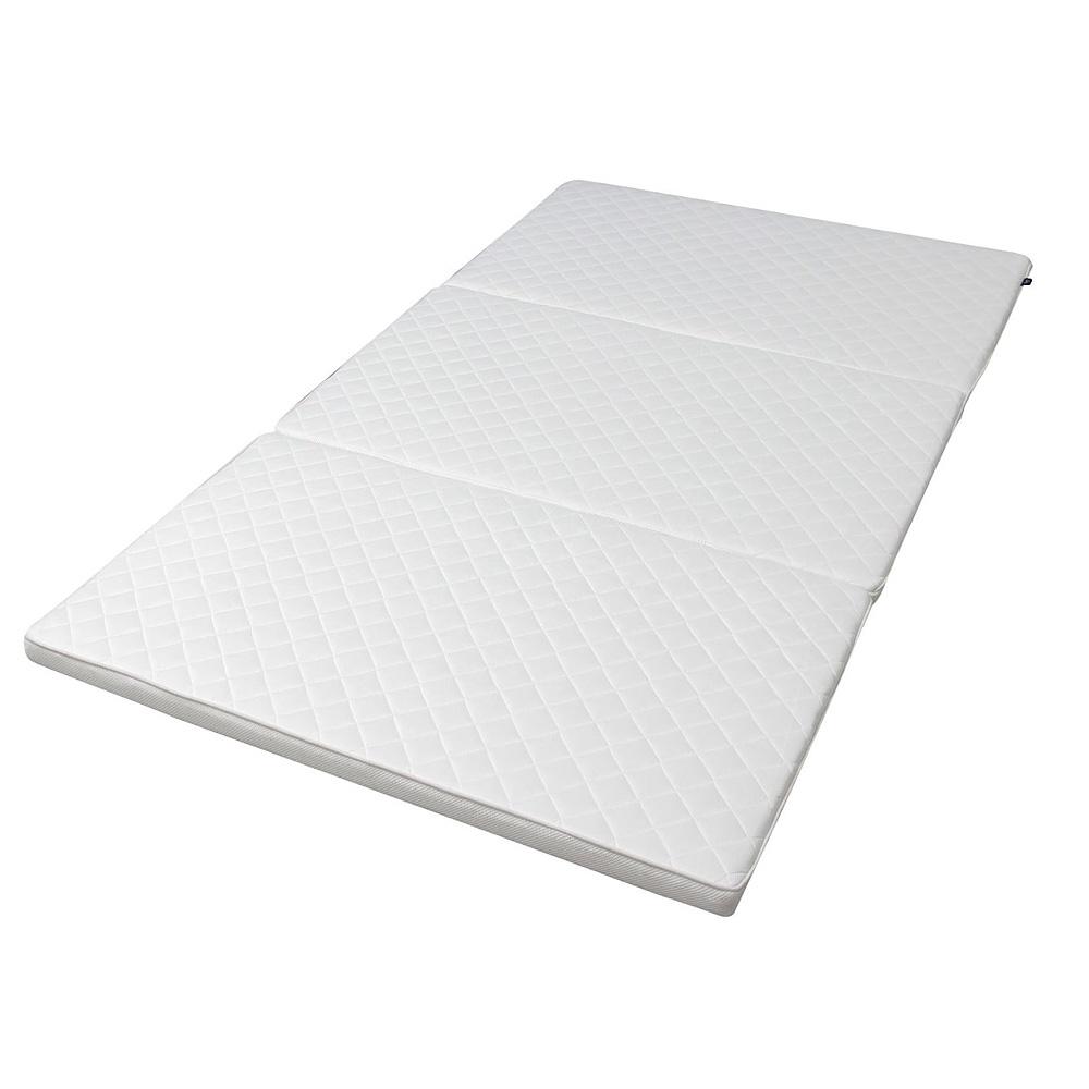 【セミダブル】 当店オリジナル! ポリエチレン樹脂 4cm厚 高反発マットレス 今まで体験したことない3Dエアの感触 3Dエア カバー無し 即使用OK! かため ベッドパッド