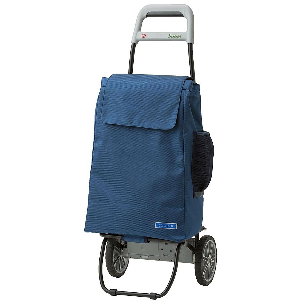 《ショッピングカートとして、重量物(20kgまで)の運搬に》フジマイクロ 電動アシストキャリーカートSueet(スイート)FA-008-01BL-CFブルー