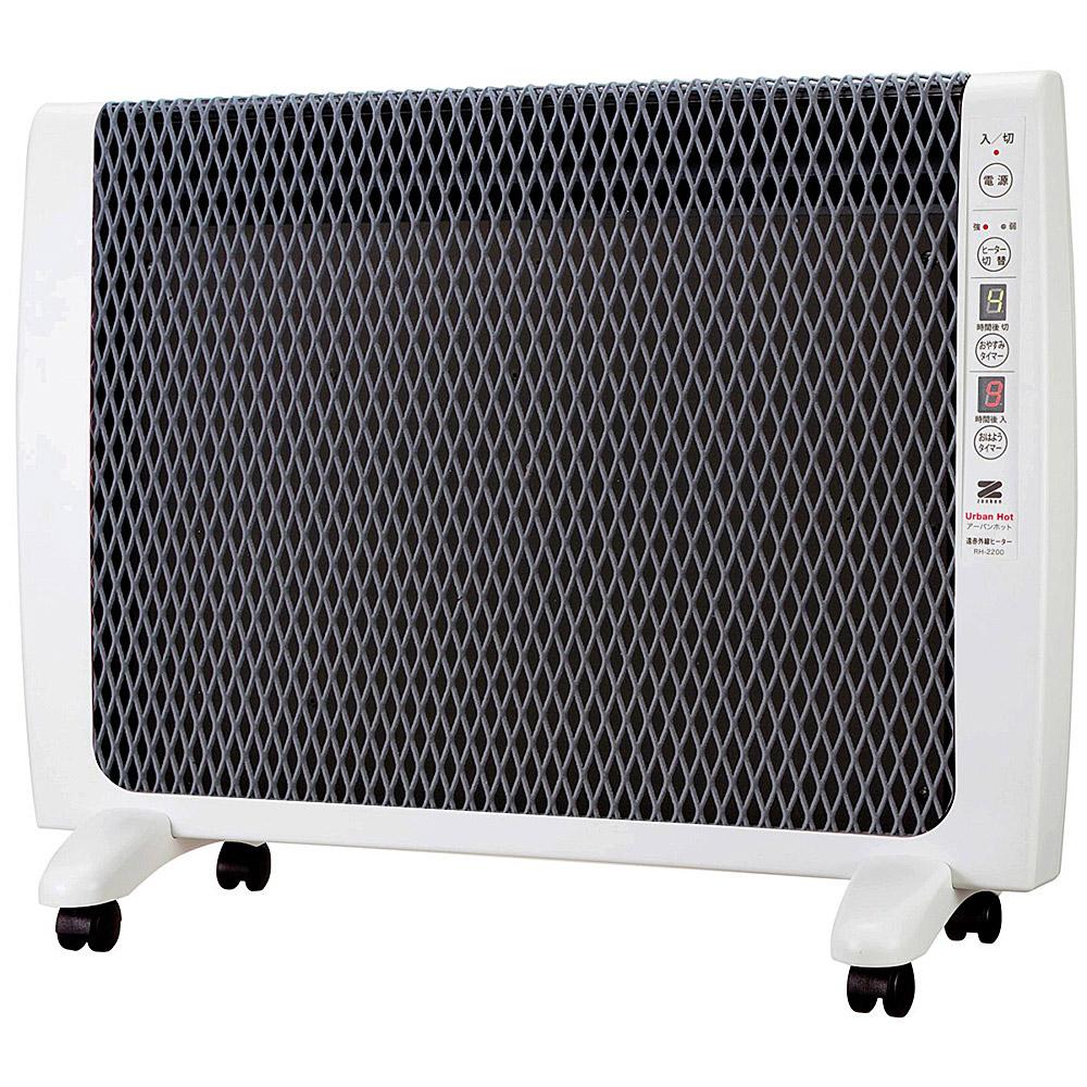 《全面放射と上部対流のW暖流効果でお部屋全体を優しく暖めます》ZENKEN 薄型遠赤外線暖房機