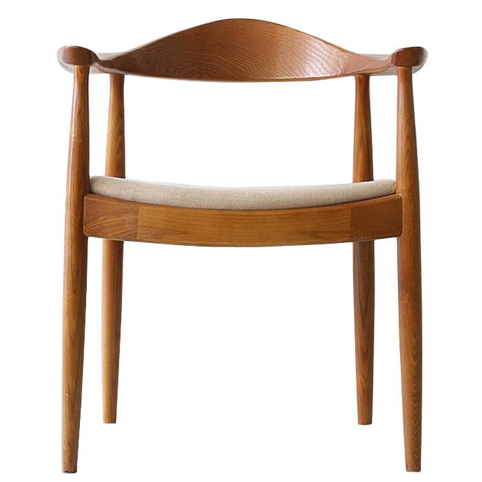 《世界で最も美しい椅子といわれるThe Chair。H・J・ウェグナーの代表作》ハンス・J・ウェグナー The Chairザ・チェアDC-604F-BRファブリック ブラウン