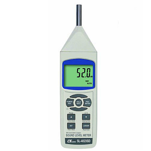 マザーツール デジタル騒音計SL-4023SD SDカードスロット搭載のデータロガ騒音計