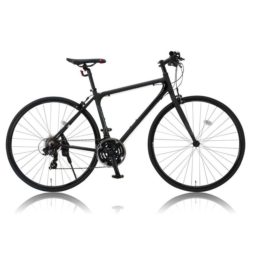 《7スピード14T-28Tのワイドレシオ》CANOVER 700x25C 21段変速クロスバイクCAC-021 VENUSフレームサイズ470mm(31050)ブラック